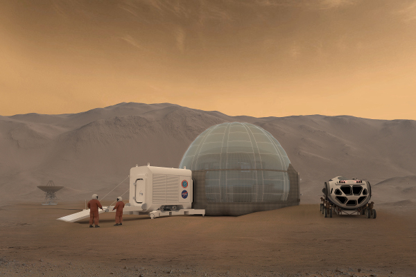 A new house on Mars?